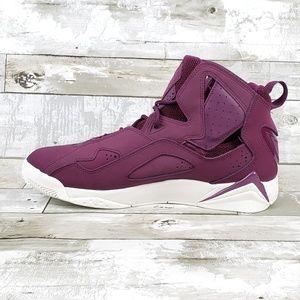 a785e5aa9be3 Jordan Shoes - Jordan True Flight Mens Basketball Shoe Red Maroon